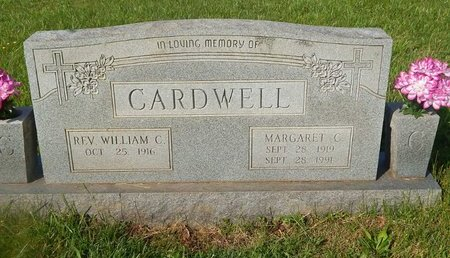 CARDWELL, MARGARET C - Knox County, Tennessee | MARGARET C CARDWELL - Tennessee Gravestone Photos