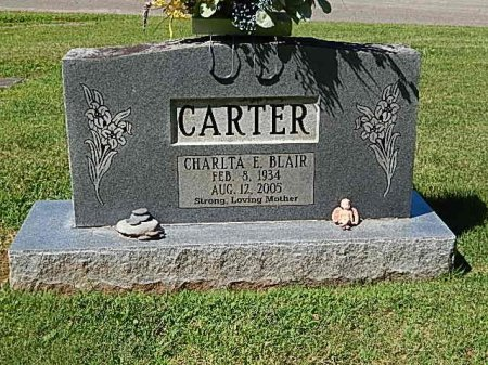 CARTER, CHARLTA E - Knox County, Tennessee | CHARLTA E CARTER - Tennessee Gravestone Photos