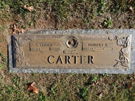 CARTER, E LOUISE - Knox County, Tennessee | E LOUISE CARTER - Tennessee Gravestone Photos