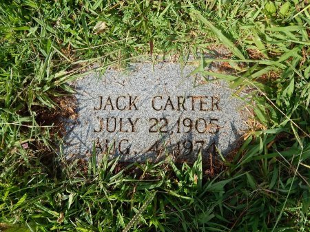 CARTER, JACK - Knox County, Tennessee | JACK CARTER - Tennessee Gravestone Photos