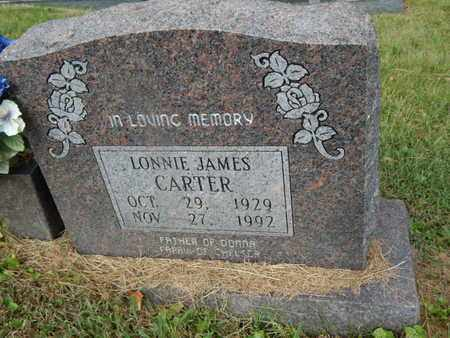 CARTER, LONNIE JAMES - Knox County, Tennessee | LONNIE JAMES CARTER - Tennessee Gravestone Photos