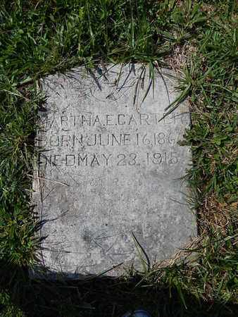 CARTER, MARTHA E - Knox County, Tennessee | MARTHA E CARTER - Tennessee Gravestone Photos
