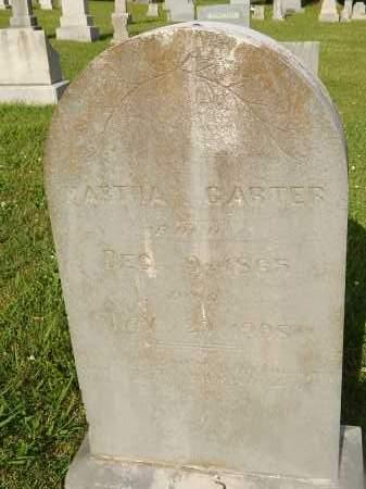 CARTER, MARTHA - Knox County, Tennessee | MARTHA CARTER - Tennessee Gravestone Photos