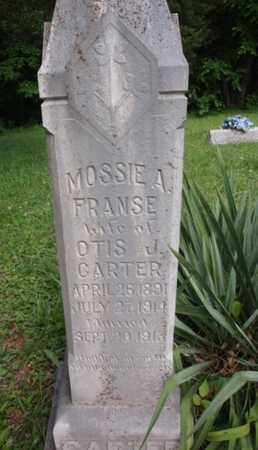CARTER, MOSSIE A - Knox County, Tennessee | MOSSIE A CARTER - Tennessee Gravestone Photos