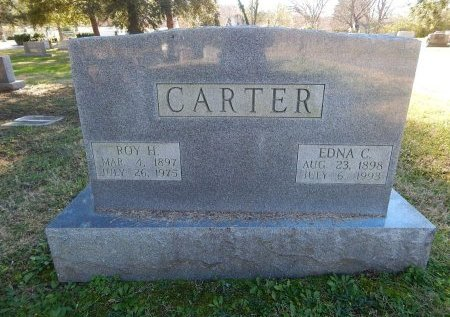 CARTER, ROY H - Knox County, Tennessee | ROY H CARTER - Tennessee Gravestone Photos
