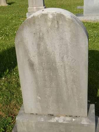 CARTER, SIM - Knox County, Tennessee   SIM CARTER - Tennessee Gravestone Photos