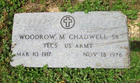 CHADWELL SR(VETERAN), WOODROW M - Knox County, Tennessee   WOODROW M CHADWELL SR(VETERAN) - Tennessee Gravestone Photos