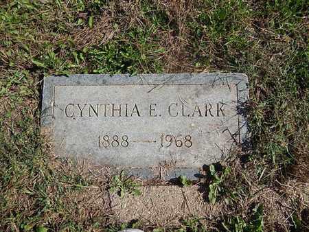CLARK, CYNTHIA E - Knox County, Tennessee | CYNTHIA E CLARK - Tennessee Gravestone Photos