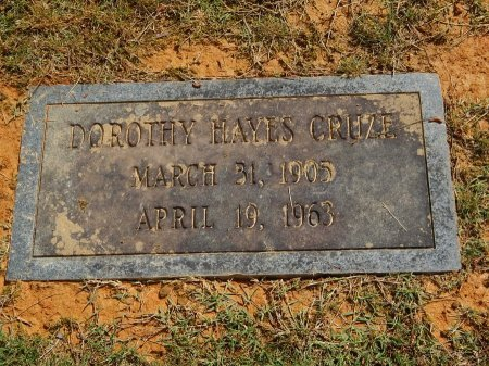 CRUZE, DOROTHY - Knox County, Tennessee | DOROTHY CRUZE - Tennessee Gravestone Photos
