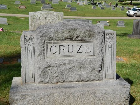 CRUZE, FAMILY MARKER - Knox County, Tennessee | FAMILY MARKER CRUZE - Tennessee Gravestone Photos