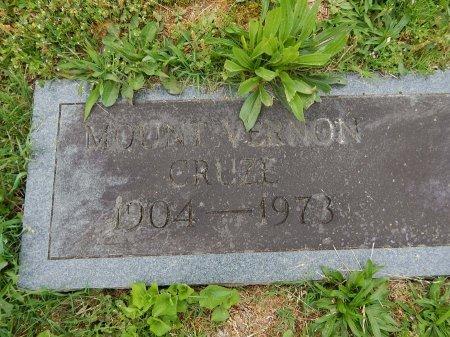 CRUZE, MOUNT VERNON - Knox County, Tennessee | MOUNT VERNON CRUZE - Tennessee Gravestone Photos