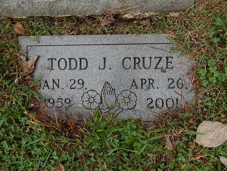CRUZE, TODD J - Knox County, Tennessee   TODD J CRUZE - Tennessee Gravestone Photos
