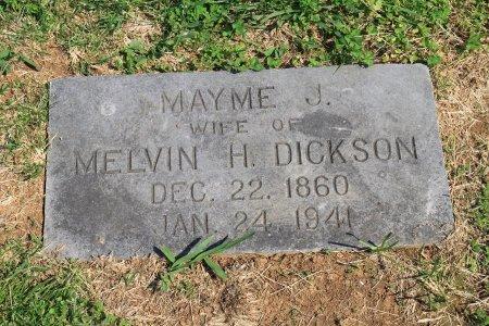 DAVIS DICKSON, MAYME J. - Knox County, Tennessee | MAYME J. DAVIS DICKSON - Tennessee Gravestone Photos