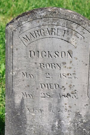 DICKSON, MARGARET J. - Knox County, Tennessee | MARGARET J. DICKSON - Tennessee Gravestone Photos