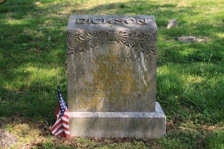 DICKSON (VETERAN WWI), RICHARD H. - Knox County, Tennessee | RICHARD H. DICKSON (VETERAN WWI) - Tennessee Gravestone Photos