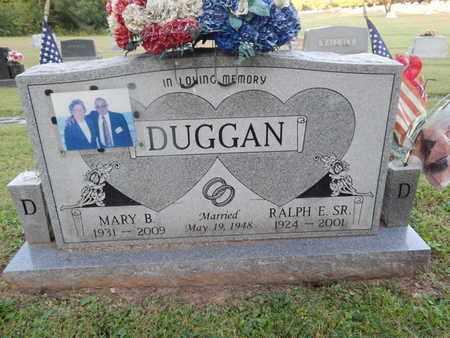 DUGGAN, MARY B - Knox County, Tennessee   MARY B DUGGAN - Tennessee Gravestone Photos