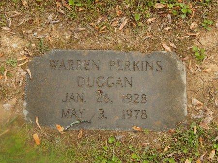 DUGGAN, WARREN PERKINS - Knox County, Tennessee | WARREN PERKINS DUGGAN - Tennessee Gravestone Photos