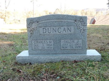 DUNCAN, CHARLES M - Knox County, Tennessee | CHARLES M DUNCAN - Tennessee Gravestone Photos