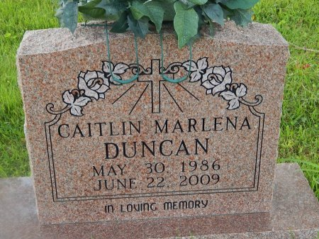DUNCAN, CAITLIN MARLENA - Knox County, Tennessee | CAITLIN MARLENA DUNCAN - Tennessee Gravestone Photos