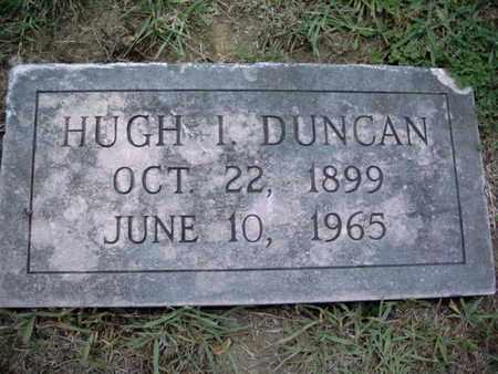 DUNCAN, HUGH I - Knox County, Tennessee   HUGH I DUNCAN - Tennessee Gravestone Photos