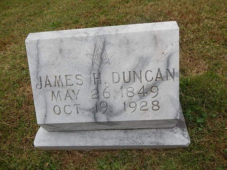DUNCAN, JAMES H - Knox County, Tennessee | JAMES H DUNCAN - Tennessee Gravestone Photos