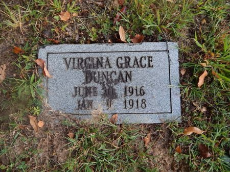 DUNCAN, VIRGINIA GRACE - Knox County, Tennessee   VIRGINIA GRACE DUNCAN - Tennessee Gravestone Photos