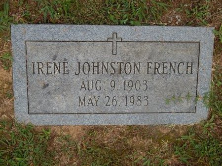 FRENCH, IRENE - Knox County, Tennessee | IRENE FRENCH - Tennessee Gravestone Photos