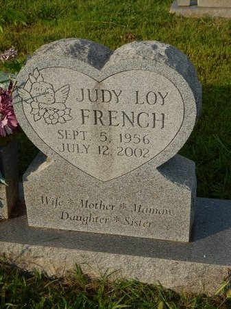 FRENCH, JUDY  - Knox County, Tennessee | JUDY  FRENCH - Tennessee Gravestone Photos