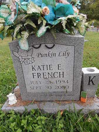 FRENCH, KATIE E - Knox County, Tennessee | KATIE E FRENCH - Tennessee Gravestone Photos