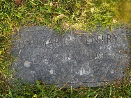 GENTRY, DELMAR C - Knox County, Tennessee | DELMAR C GENTRY - Tennessee Gravestone Photos