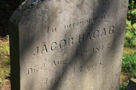 HAGAR, JACOB (CLOSE UP) - Knox County, Tennessee | JACOB (CLOSE UP) HAGAR - Tennessee Gravestone Photos