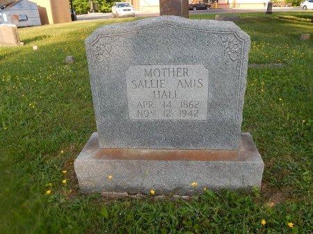 AMIS HALL, SALLIE - Knox County, Tennessee | SALLIE AMIS HALL - Tennessee Gravestone Photos