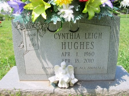 HUGHES, CYNTHIA LEIGH - Knox County, Tennessee | CYNTHIA LEIGH HUGHES - Tennessee Gravestone Photos