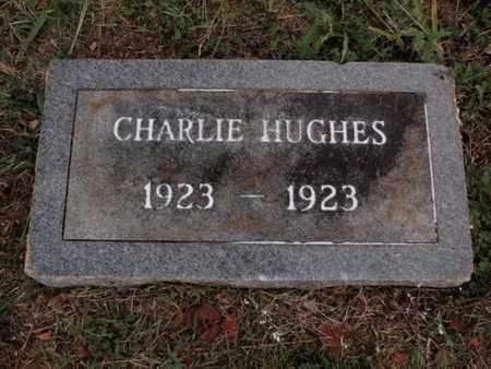 HUGHES, CHARLIE - Knox County, Tennessee | CHARLIE HUGHES - Tennessee Gravestone Photos