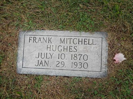 HUGHES, FRANK MITCHELL - Knox County, Tennessee   FRANK MITCHELL HUGHES - Tennessee Gravestone Photos