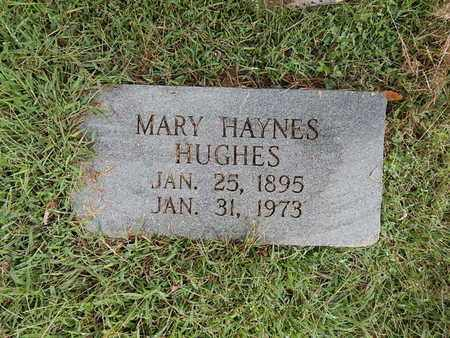 HUGHES, MARY - Knox County, Tennessee | MARY HUGHES - Tennessee Gravestone Photos