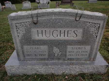 HUGHES, STOKES - Knox County, Tennessee | STOKES HUGHES - Tennessee Gravestone Photos