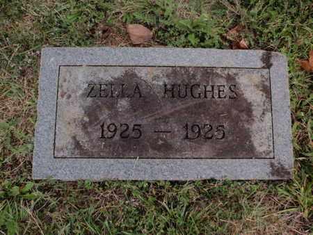 HUGHES, ZELLA - Knox County, Tennessee | ZELLA HUGHES - Tennessee Gravestone Photos