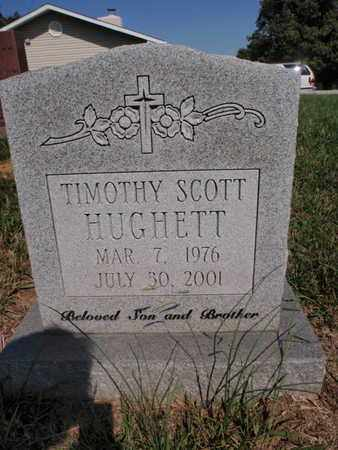 HUGHETT, TIMOTHY SCOTT - Knox County, Tennessee | TIMOTHY SCOTT HUGHETT - Tennessee Gravestone Photos
