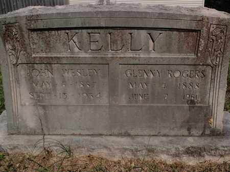 ROGERS KELLY, GLENNY - Knox County, Tennessee | GLENNY ROGERS KELLY - Tennessee Gravestone Photos