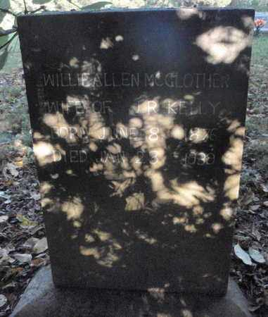 KELLY, WILLIE ALLEN - Knox County, Tennessee   WILLIE ALLEN KELLY - Tennessee Gravestone Photos