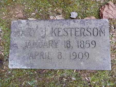 KESTERSON, MARY J - Knox County, Tennessee | MARY J KESTERSON - Tennessee Gravestone Photos