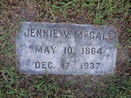 MCCALL, JENNIE V - Knox County, Tennessee | JENNIE V MCCALL - Tennessee Gravestone Photos