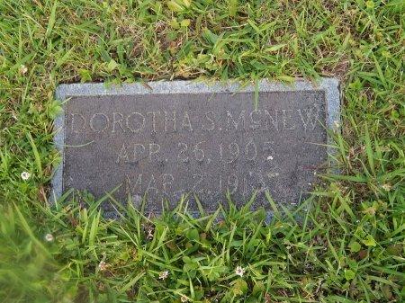 MCNEW, DOROTHA S - Knox County, Tennessee   DOROTHA S MCNEW - Tennessee Gravestone Photos