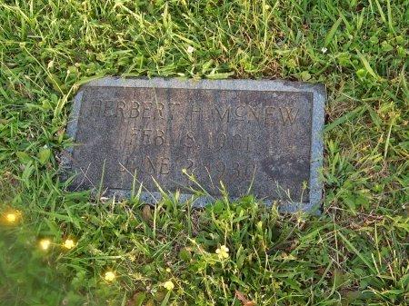 MCNEW, HERBERT H - Knox County, Tennessee | HERBERT H MCNEW - Tennessee Gravestone Photos