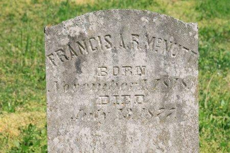 "MCNUTT, FRANCIS ALEXANDER RAMSEY ""FRANK"" (CLOSE UP) - Knox County, Tennessee   FRANCIS ALEXANDER RAMSEY ""FRANK"" (CLOSE UP) MCNUTT - Tennessee Gravestone Photos"