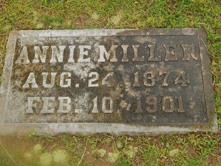 MILLER, ANNIE - Knox County, Tennessee | ANNIE MILLER - Tennessee Gravestone Photos