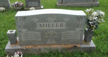 MILLER, EDWARD RICHARD - Knox County, Tennessee | EDWARD RICHARD MILLER - Tennessee Gravestone Photos