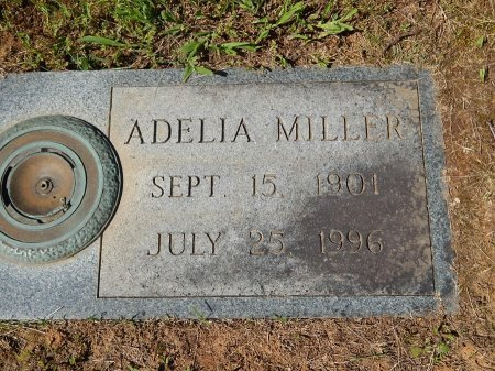 MILLER, ADELIA - Knox County, Tennessee   ADELIA MILLER - Tennessee Gravestone Photos