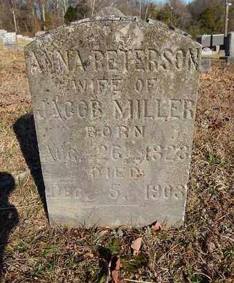 MILLER, ANNA - Knox County, Tennessee | ANNA MILLER - Tennessee Gravestone Photos